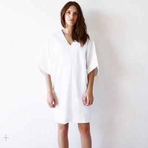 Hackwith Design House HDH basics v neck dress sm